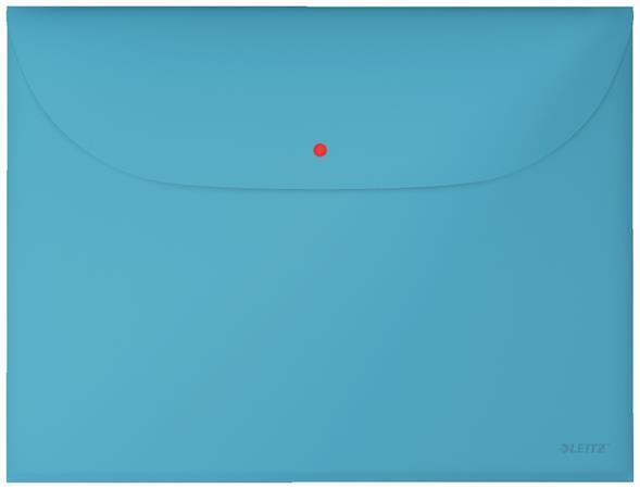 Aktovka Leitz Cosy A4, neprůhledný PP, 3 ks, klidná modrá