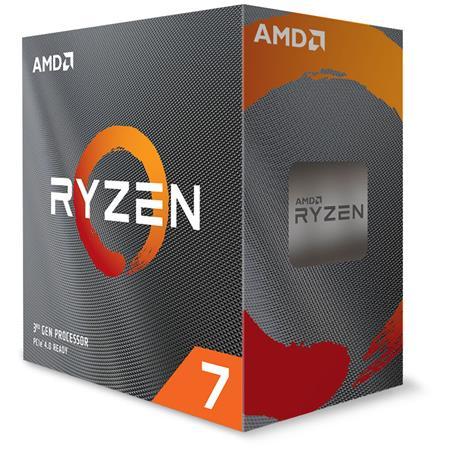 AMD cpu Ryzen 7 3800XT Box AM4 (8core, 16x vlákno, 3.9GHz / 4.7GHz, 32MB cache, 105W), bez chladiče