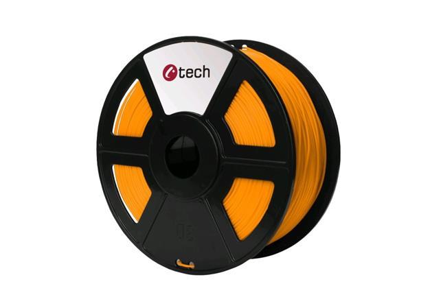 C-TECH tisková struna ( filament ) , HIPS, 1,75mm, 1kg, oranžová