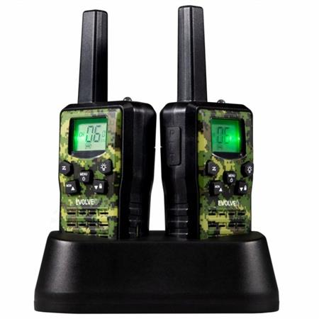EVOLVEO FreeTalk 2W, PMR vysílačky s výkonem 0,5 a 2W, dosah až 15km