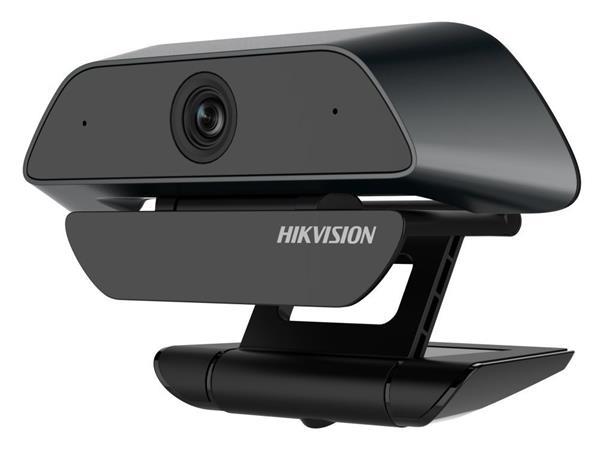 HIKVISION webkamera DS-U12/ 2MP CMOS Sensor/ 1080p/ vestavěný mikrofon/ držák/ Plug and Play/ USB 2.0/ kabel 2 m/ černá