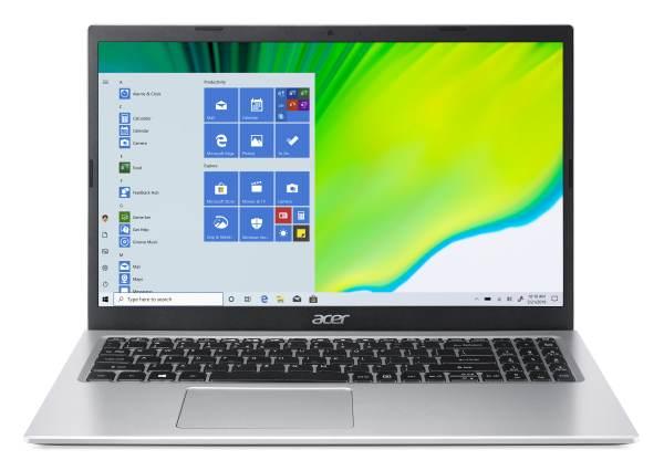 "Acer Aspire 3 (A315-35-P2FG) N6000 /8GB/256GB SSD/15.6"" FHD/UHD/W10 Home/stříbrná"