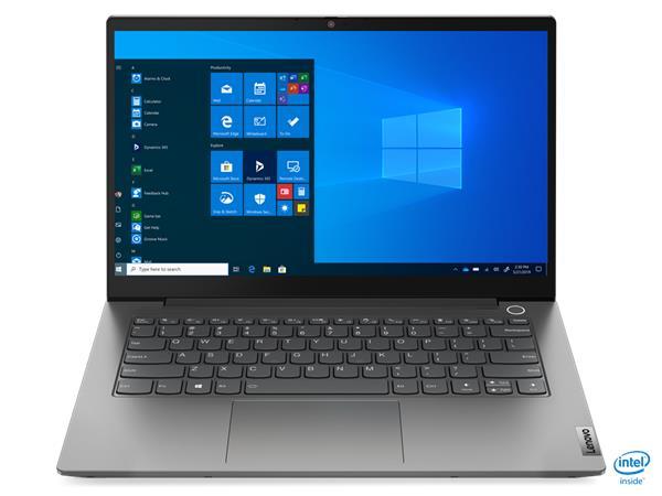 "Lenovo ThinkBook14 G2 ITL/i3-1115G4/8GB/256GB M.2 SSD + M.2 SSD slot/UHD Graphics/14"" FHD matný/Win 10 Pro/šedý"