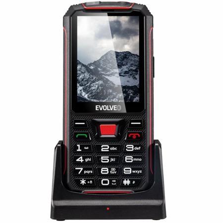 EVOLVEO StrongPhone Z4, vodotěsný odolný telefon, Dual SIM, BT, micro SDHC