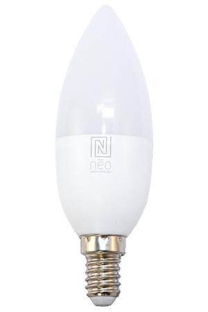IMMAX NEO LED žárovka E14/230V C37 5W TB 440lm Zigbee Dim