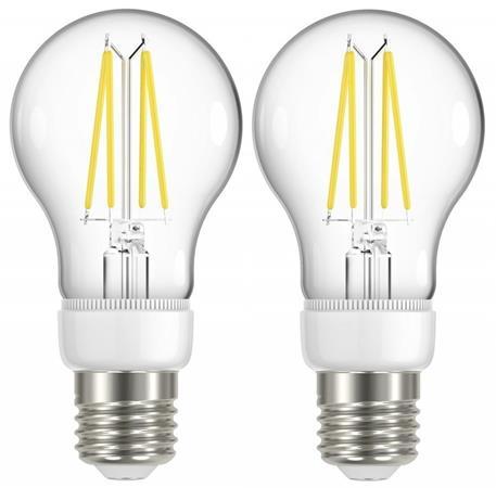 IMMAX NEO 2x SMART LED filament E27 6,3W, teplá bílá, stmívatelná, Zigbee 3.0