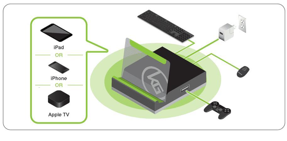 Aten adaptér klávesnice a myši pro mobilní zařízení