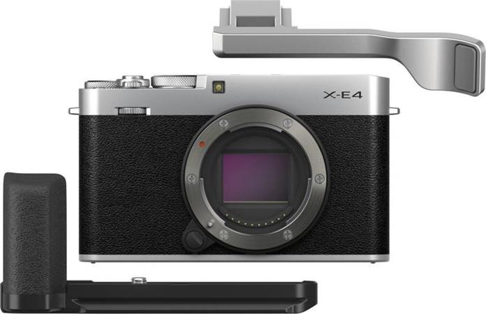 Fujifilm X-E4 + TR-XE4 + MHG-XE4 - Silver