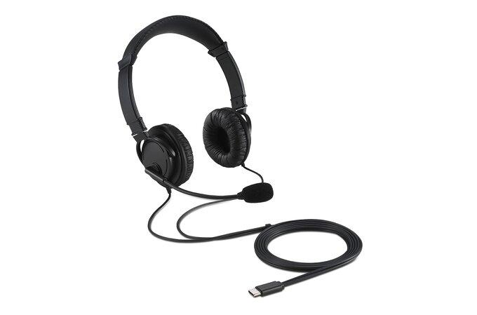 KENSINGTON USB-C Hi-Fi sluchátka s mikrofonem