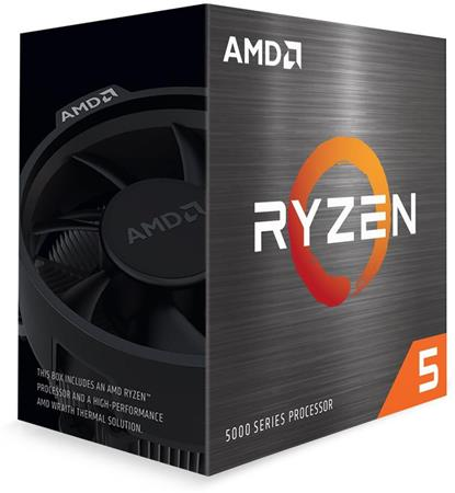 AMD cpu Ryzen 5 5600X AM4 (6core, 12x vlákno, 3.7GHz / 4.6GHz, 32MB cache, 65W), s chladičem Wraith Stealth MULTIPACK