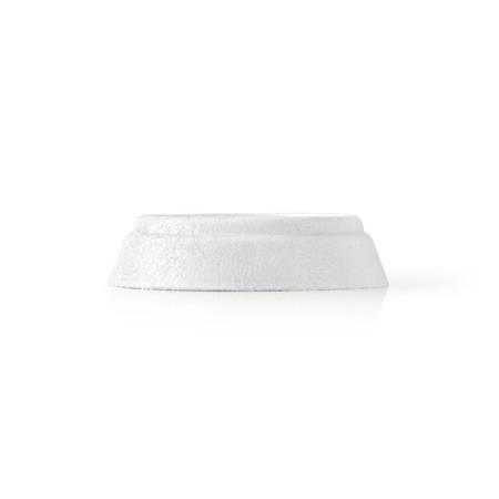 Nedis WASA110WT4B - Antivibrační tlumiče | Univerzální | 60 mm | 15 mm | 4 ks | Bílá | Plast