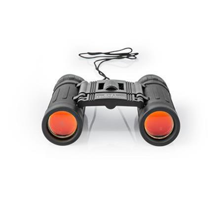 Nedis SCBI1000BK - Dalekohled | Zvětšení: 8 | Průměr čočky objektivu: 21 mm | Oční Reliéf: 10,5 | Zorné pole: 128 m |