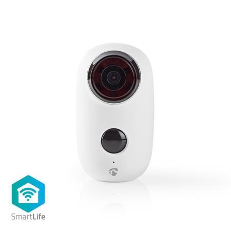 Nedis WIFICBO10WT - SmartLife Venkovní Kamera | Wi-Fi | Full HD 1080p | IP65 | Maximální životnost baterie: 10 měsíce | Cloud / Mi