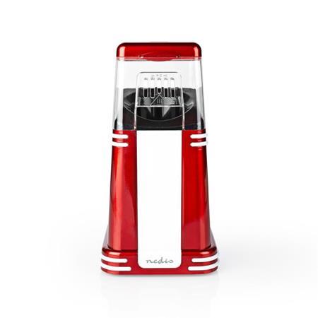 Nedis FCPC100RD - Popkornovač   60 g   1200 W   2 - 4 min   Červená/Bílá
