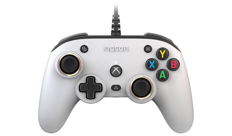 Nacon Pro Compact Controller - white (XSX/XONE/PC)