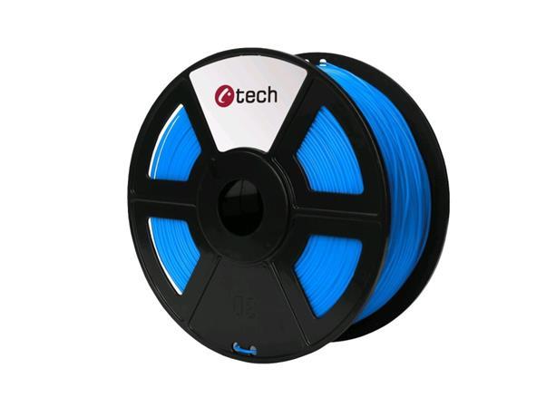 C-TECH tisková struna ( filament ) , ABS, 1,75mm, 1kg, modrá