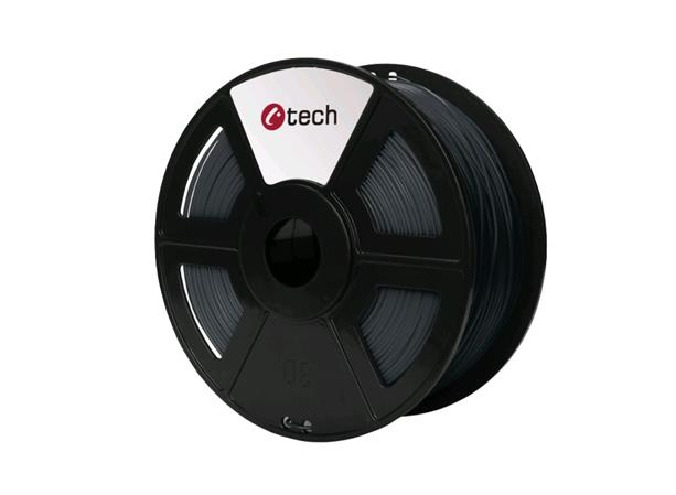 C-TECH tisková struna ( filament ) , ABS, 1,75mm, 1kg, šedá