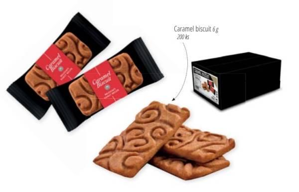 Belgické sušenky - Caramel biscuit (200 ks)