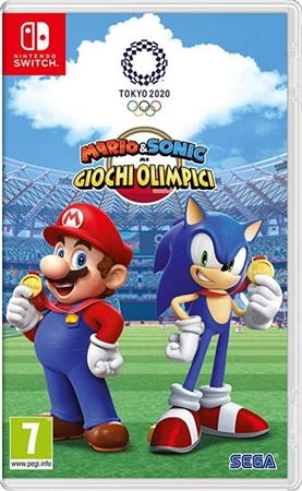 Nintendo SWITCH Mario & Sonic at the Tokyo Olymp. Game 2020