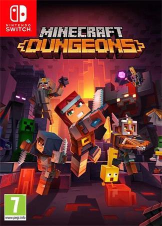 Nintendo SWITCH Minecraft Dungeons