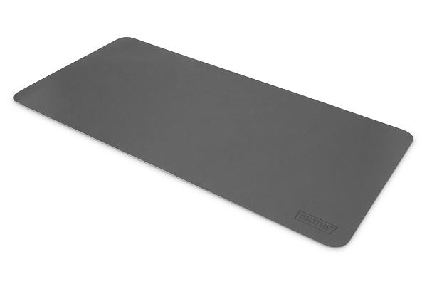 DIGITUS podložka na stůl / podložka pod myš (90 x 43 cm), šedá / tmavě šedá