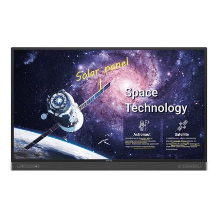 """BenQ LCD RP7502 75"""" 3840x2160 Touch/1200:1/450 nits/3xHDMI/VGA/6xUSB/RJ45/RS232/3.5mm/VESA/2x16W+15Wsub repro"""