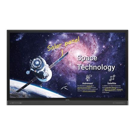 """BenQ LCD RP8602 86"""" 3840x2160 Touch/1200:1/400 nits/3xHDMI/VGA/5xUSB/RJ45/RS232/3.5mm/VESA/2x16W+15Wsub repro"""