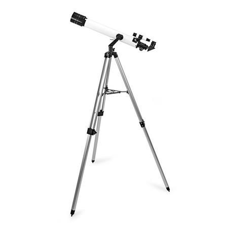 Nedis SCTE7070WT- Teleskop | Clona: 70 mm | Ohnisková vzdálenost: 700 mm | Max. pracovní výška: 125 cm | Tripod |Bílá /