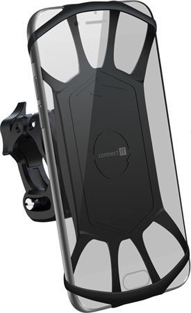 CONNECT IT OnBikez univerzální držák mobilního telefonu na kolo,motocykl atd. ČERNÝ