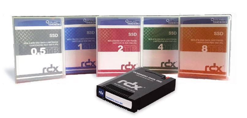 Overland-Tandberg RDX SSD 0.5TB Cartridge (Single)